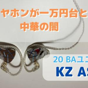 KZ ASX 【最強イヤホンが1万円台という中華の闇】レビュー!