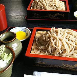 田沢「手打ちそば」と伊佐須美神社(1)