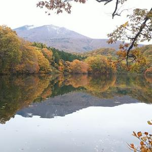 七ヶ宿ダム・やまびこ吊り橋・長老湖の紅葉