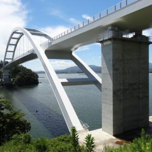 気仙沼大島大橋へ