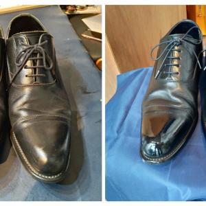 上司に靴磨きをプレゼントしました