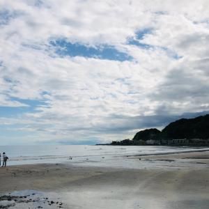 江ノ電でのんびりトコトコ由比ガ浜