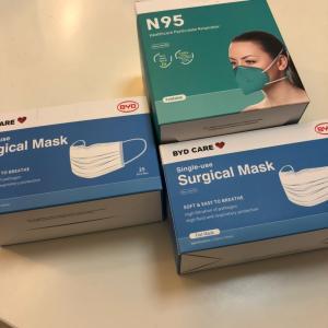 マスク配布とお初のティースタンド