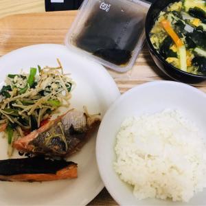 夕飯に鮭♪