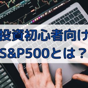 投資初心者向けに解説!S&P500とは?