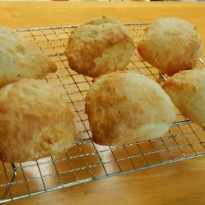 発酵なしの簡単おやつパン