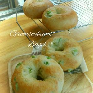 豆乳&枝豆ベーグル作り