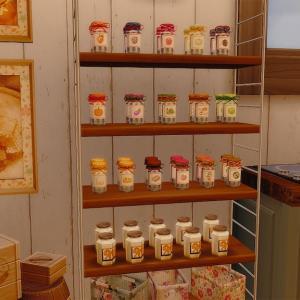 CC配布: ジャムと蜂蜜のデコバージョン