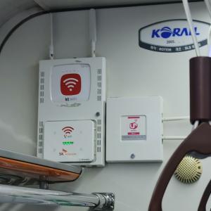地下鉄1号線の車内WiFi  韓国観光はWiFi機器レンタル不要?