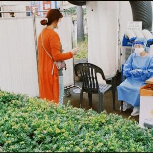 ま さ か のPCR検査レポート @韓国 野外検査場