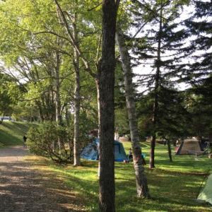 安平町ときわキャンプ場は非自立ハンモック可、予約簡単、ごみ収集あり
