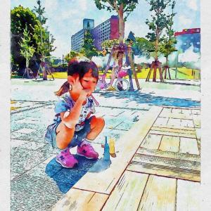 夏休み最終日オチャピーとの一日 〜嬉しいような寂しいような〜