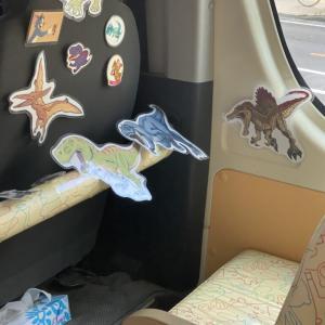 うり坊専用シート 〜幼稚園バスの席が素敵!感謝感激!〜