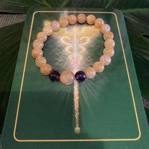 ルチルクォーツのブレスの方季節の変わり目あなたの心と体からの 大切なメッセージ