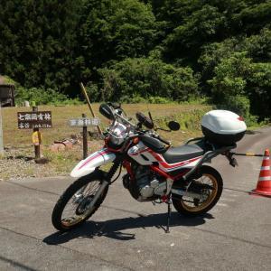 バイクで登山 =(ΦωΦ)=にゃー