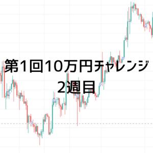 【2週目】第1回10万円チャレンジ!全トレードまとめ
