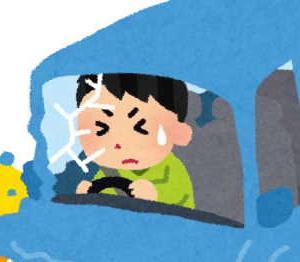 【危険運転目撃多数】五輪車両が当て逃げwww