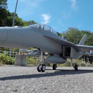 FMS F/A-18F SUPER HORNET 地上滑走練習⁉️