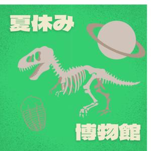 【茨城県自然博物館】夏休み中(平日)の混雑具合は?企画展の内容は?