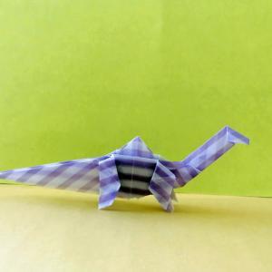 おりがみ:アパトサウルス(Origami:Apatosaurus)