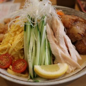 ここの冷やし中華だけは毎年欠かさず食べてます 大森台 らーめん処 彩蓮