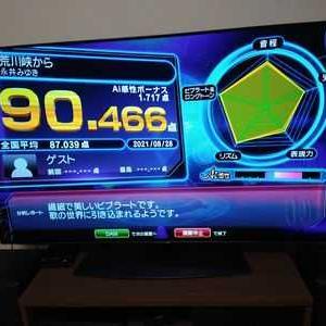 七音の精密採点90点チャレンジ【8/28】②