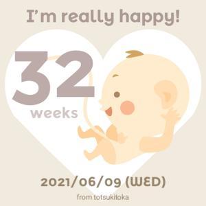 妊娠記録【32週5日】性別は男の子?女の子?