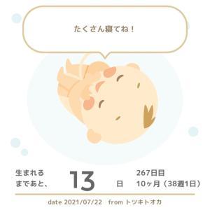 妊娠記録 【38週1日】おしるしがきたー??!!