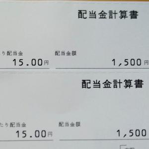 【高配当投資】ハニーズの配当金【3,000円】