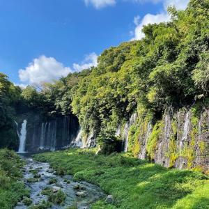 富士ツーリング~白糸の滝~