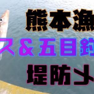 キス釣り&五目釣り 堤防メシ