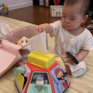 いたずらやりたい放題できちゃう知育おもちゃ♪『いたずら1歳やりたい放題ビッグ版リアル+』