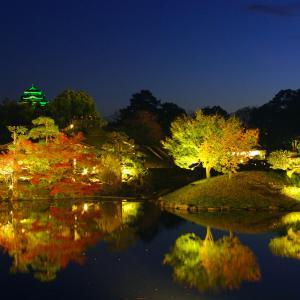 【幻想】日本三名園「後楽園」でライトアップ✨✨