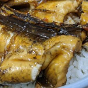【絶品】煮アナゴ炙り丼