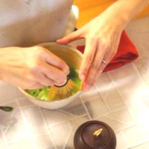 新レッスン予告①深まる秋に和菓子と一緒にお抹茶時間