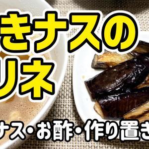 【ダイエットおかず】焼きナスのマリネを作るわよ!お酢で健康ダイエット!