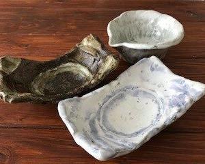 手びねり陶器