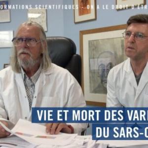Vie et mort des variants du SARS-COV-2