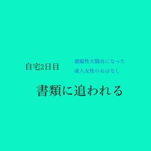 【自宅療養2日目…!!(9/19)】書類に追われる