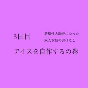 【自宅療養3日目…!!(9/20)】アイスを自作するの巻