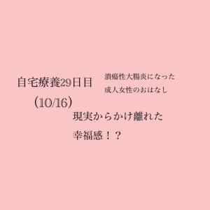 【自宅療養29日目…!!(10/16)】副作用→現実からかけ離れた幸福感!?