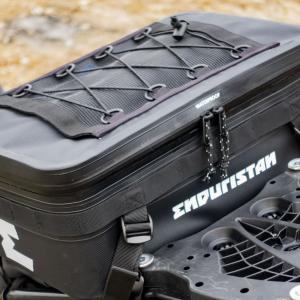 エンデュリスタンのパニアトッパーは単品使いもできる優秀な完全防水防塵シートバッグ