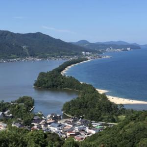 京都旅行で日本三景【天橋立】へ観光、海水浴に行ってきました。