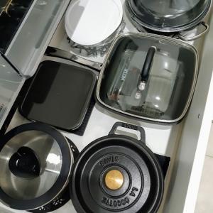 キッチン収納 コンロ下(上段)