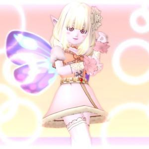 幻想蝶とモンシロウィング