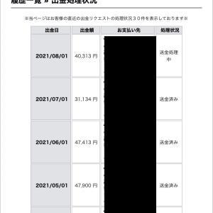 7月タリタリ40,313円♪