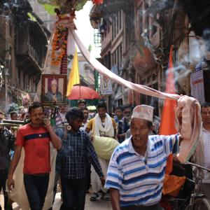 ネパールのガイジャットラというお祭り