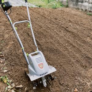 家庭菜園の土づくりとジャガイモの植え付け