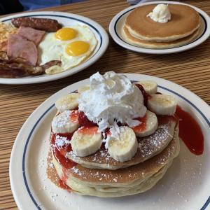 IHOPで朝食を♪