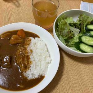 【休肝日】鶏スープ入りビーフカレー